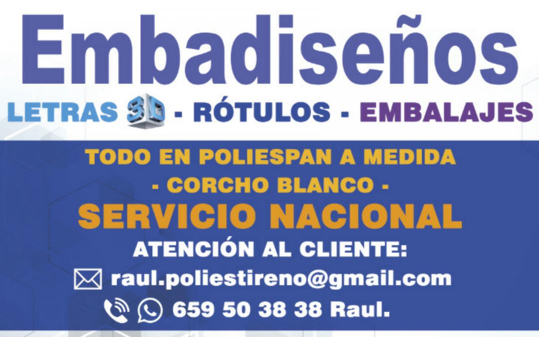 LETRAS CORPOREAS DE POLIESTIRENO EXPANDIDO O POREXPAN BARATO EN BARCELONA…