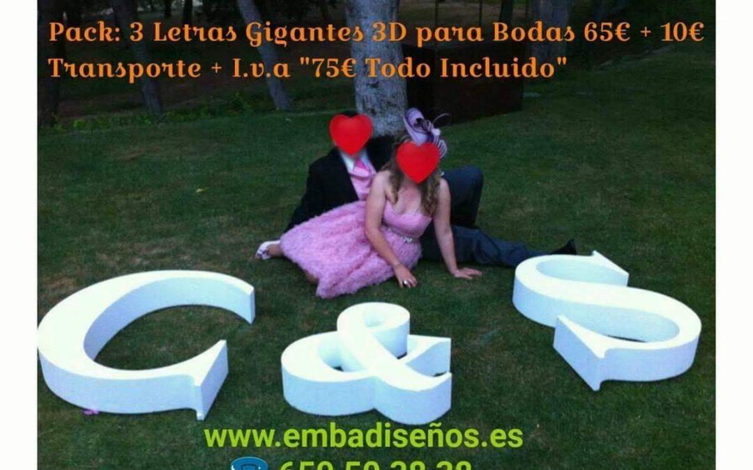 OFERTA INICIALES XXL PARA EVENTOS Y BODAS / POLIESPÁN ALTA DENSIDAD / MADRID / TOLEDO / BARCELONA / VALENCIA / SEVILLA