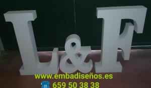 FABRICANTE DE LETRAS XXL DE POLIESPAN BARATO